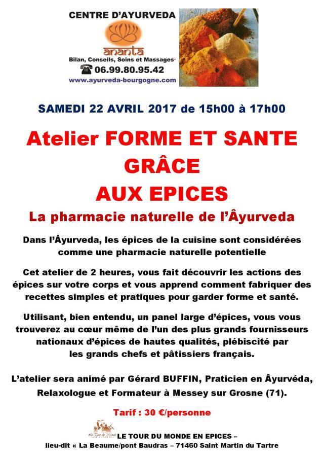 AFFICHETTE ATELIER FORME ET SANTE EPICES 22 avril 2017-page-001