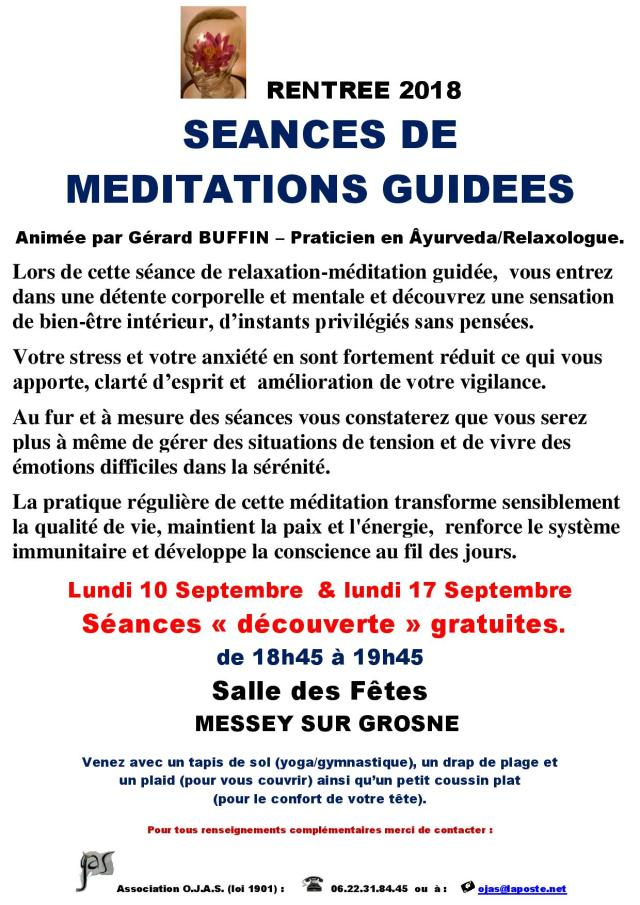 AFFICHETTE MESSEY RENTREE 2018 AVEC 2 SEANCES DECOUVERTE DE RELAXATION-MEDITATION GUIDEE-page-001