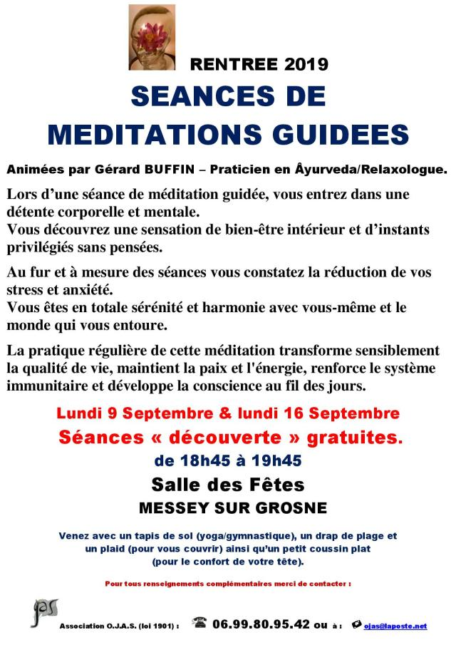 AFFICHETTE MESSEY RENTREE 2019 AVEC 2 SEANCES DECOUVERTE DE MEDITATION GUIDEE-page-001